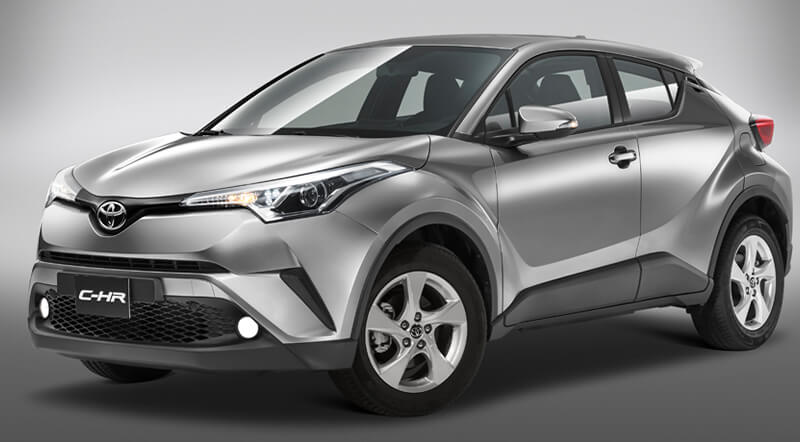 C-HR Exterior Diamante