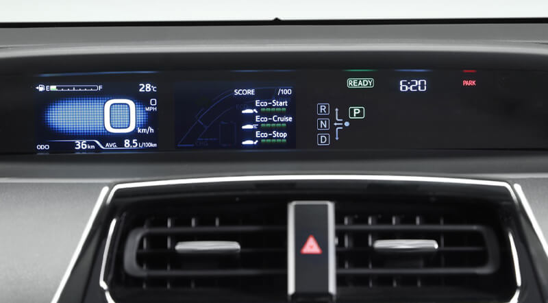 Prius Pantalla Multi-información