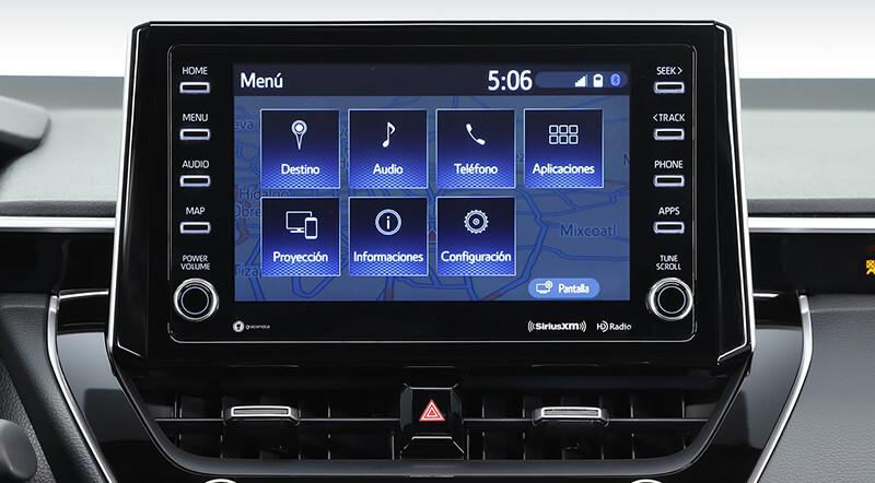 Toyota Corolla Pantalla Táctil