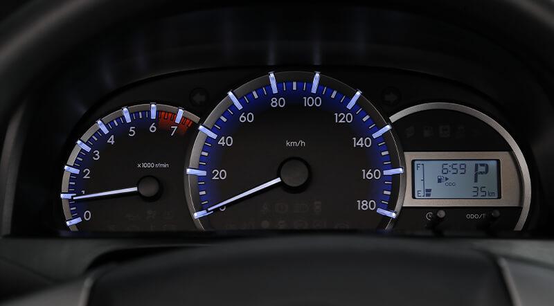 Toyota Avanza Tablero