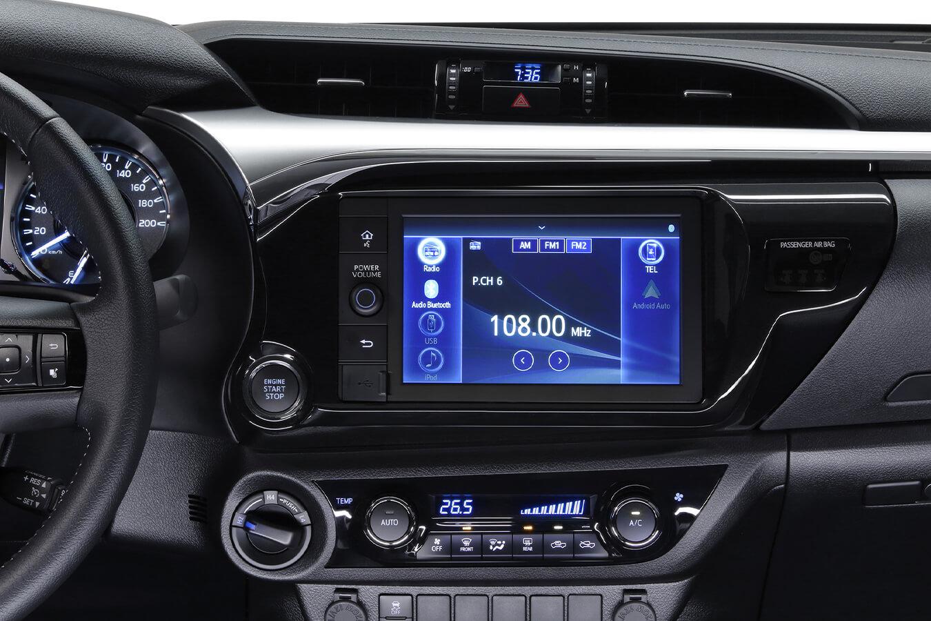 Toyota Hilux Audio