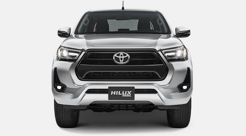 Toyota Hilux Frente