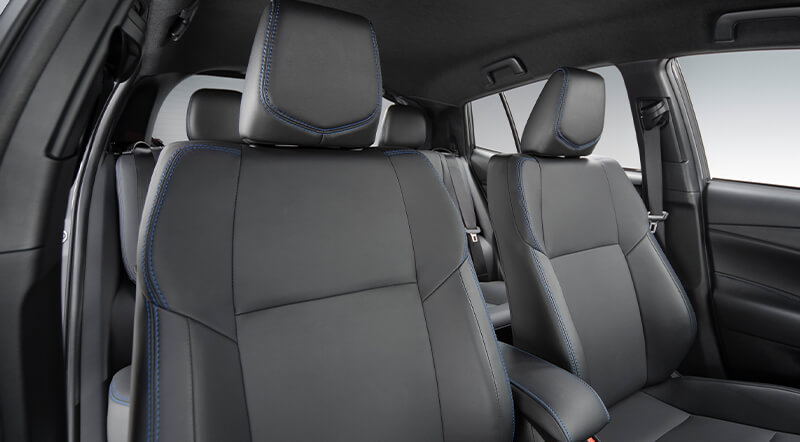 Yaris Hatchback interior