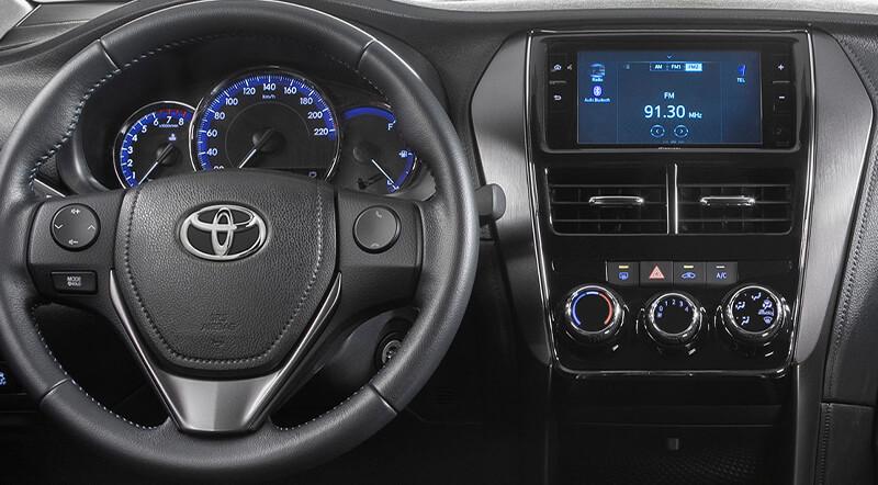 Yaris Hatchback tablero